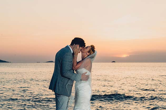 Featured Image for A Beach Front Wedding in Beautiful Cala Codolar, Ibiza