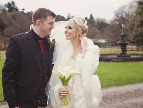 Featured Image for Glittering New Year's Eve Wedding at Melville Castle, Edinburgh