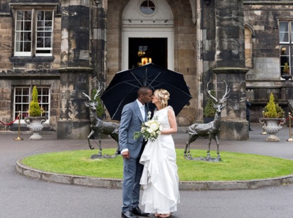 Featured Image for Two Families Unite at a Travel Themed Wedding at Mar Hall, Glasgow