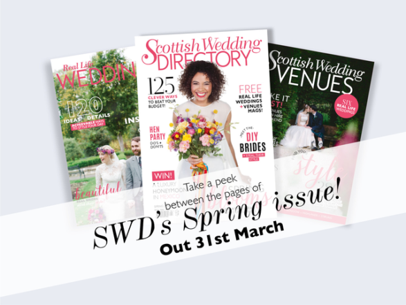 Featured Image for Scottish Wedding Directory Spring '16 // Between the Pages
