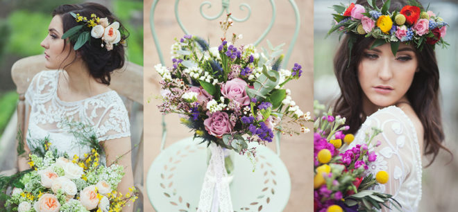 Featured Image for #ThrowbackThursday: Beautiful Floral Shoot at Secret Herb Garden, Edinburgh