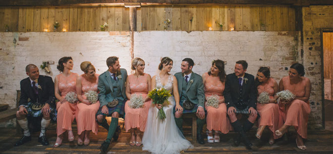 Featured Image for Bright + Sunny Wedding at the Byre at Inchyra, Perthshire
