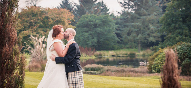 Featured Image for Beautiful Wedding with Singing Waiters at Marriot Hotel, Aberdeen