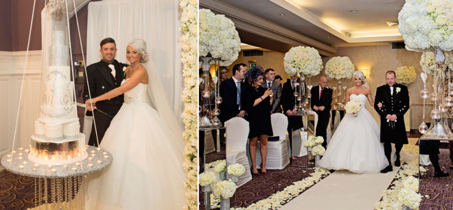 Featured Image for Glamorous City Centre Wedding at The Grand Central Hotel, Glasgow
