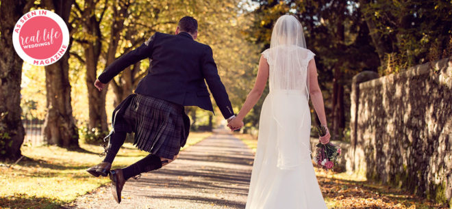 Featured Image for Rustic DIY Wedding in a Beautiful Highland Cathedral