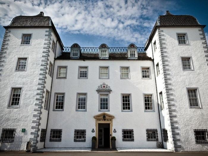Stunning Barony Castle in the Scottish Borders