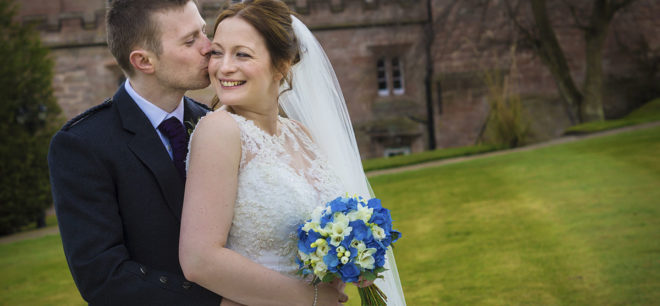 Featured Image for Traditional Castle Wedding with Creative Photography at Dalhousie Castle, Bonnyrigg