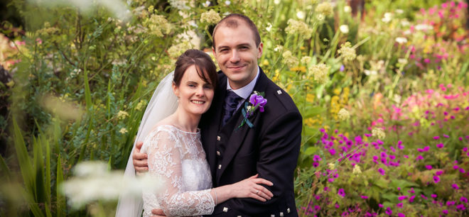 Featured Image for French + Scottish Wedding in Beautiful Fingask Castle, Perth