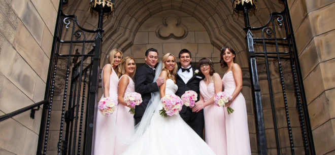 Featured Image for Romantic Glasgow Wedding at Five-Star Mar Hall Golf + Spa Resort, Bishopton