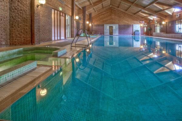 Auchrannie pool Hen Weekend Scotland