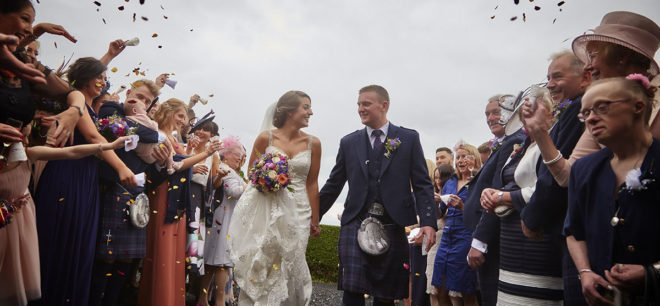 Featured Image for Beautiful Scottish Borders Wedding at Clint Lodge, Melrose