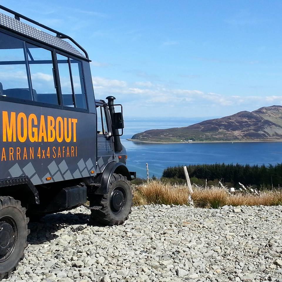 Mogabout Arran Safari Hen Weekend Scotland