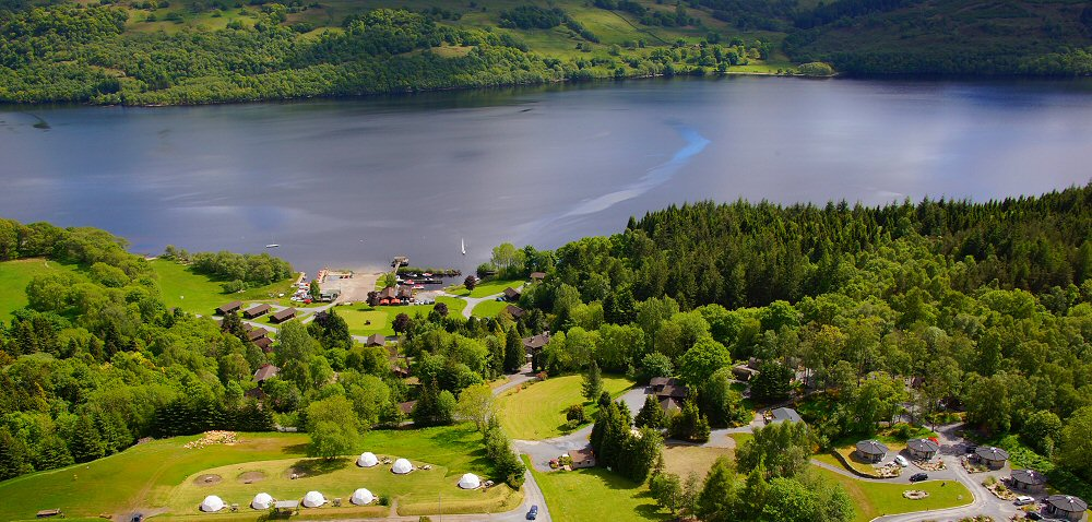 Perthshire Hen Weekend Loch Tay Glamping