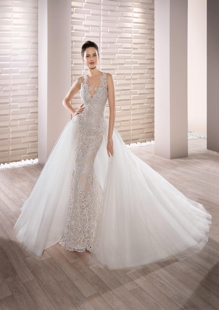 Demetrios gowns are a designer which has been exclusive to June Brides for many years.