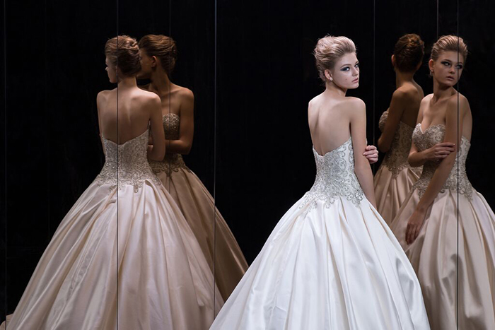 Demetrios Platinum is a firm favourite in the boutique's extensive offering.