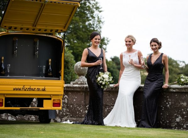Featured Image for Bridesmaids Special: Stunning gowns + a prosecco van at House of Turin, Forfar