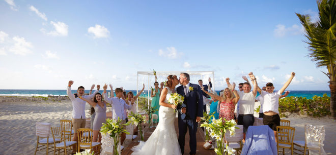 Featured Image for Intimate beach wedding at Hard Rock Hotel Punta Cana, Dominican Republic