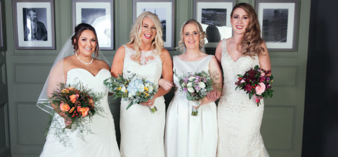 Featured Image for Meet our body confident real Scottish brides!