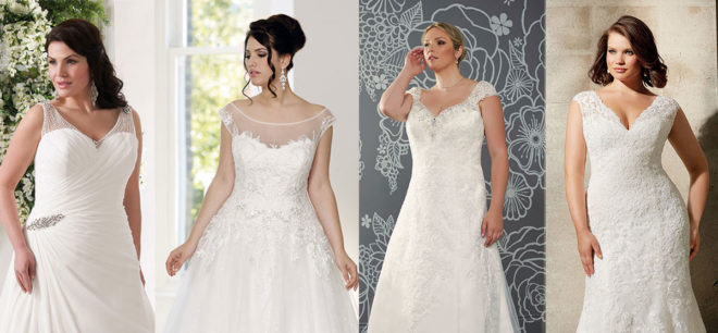 Featured Image for Amazing plus size wedding dress designers stocked in Scotland