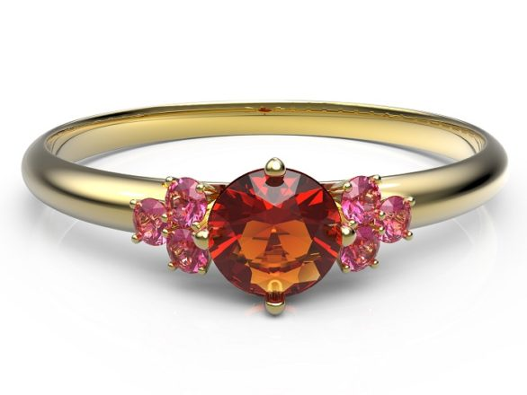 Featured Image for Brides-to-be want colourful gems as diamond engagement rings lose sparkle