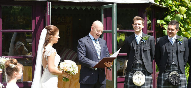 Featured Image for VIDEO: Humanist wedding ceremonies in Scotland with celebrant Tim Maguire