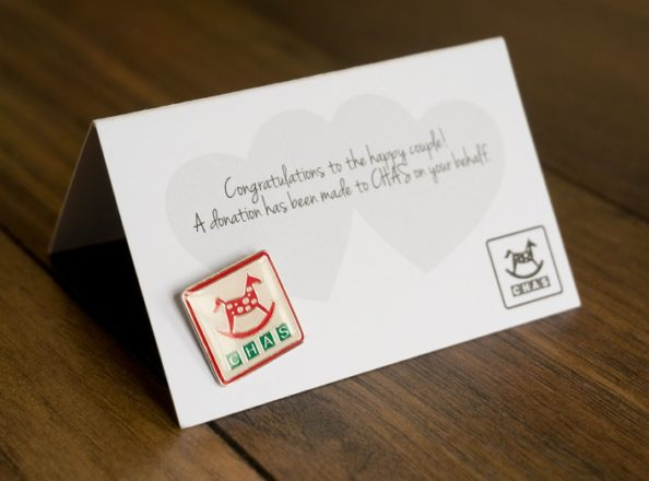 Featured Image for Celebrate with a CHAS charity wedding favour