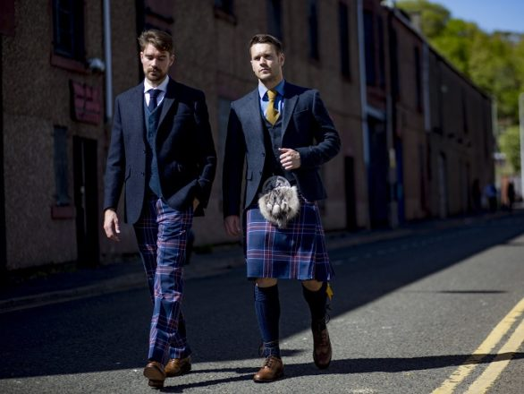 Featured Image for New Scottish National Football Team tartan launches today