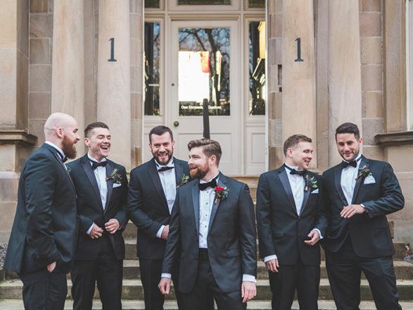 Featured Image for Six stylish Scottish grooms
