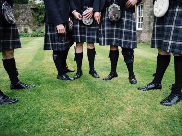 Featured Image for How do I choose which tartan to wear on my wedding day?