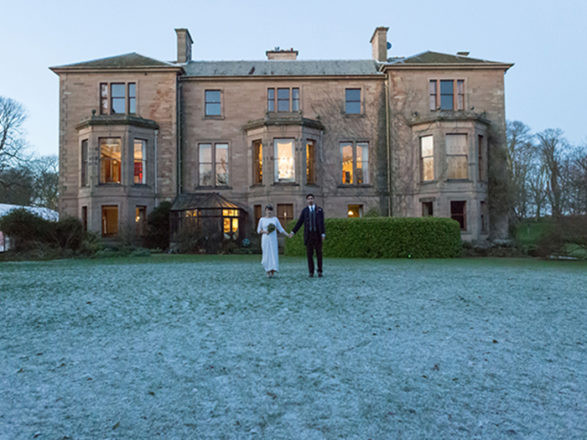 Featured Image for Why you should go for... a stately home wedding venue