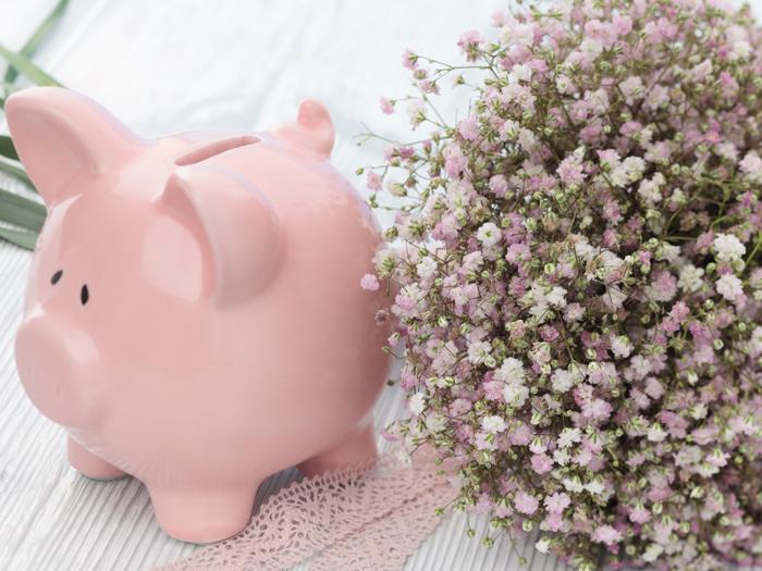 WEDDING BUDGET PIGGY BANK