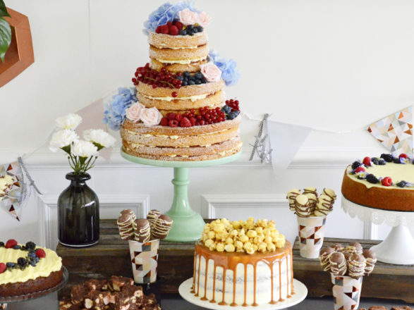 Featured Image for The next big wedding cake trends for 2018 from a former GBBO contestant