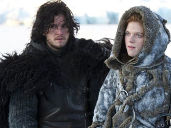Featured Image for Game of Thrones stars Kit Harington + Rose Leslie announce engagement