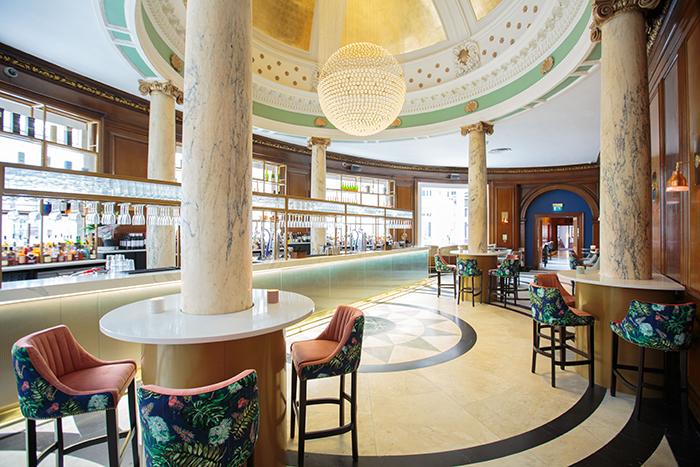 Valentine's proposal Grand Central Hotel