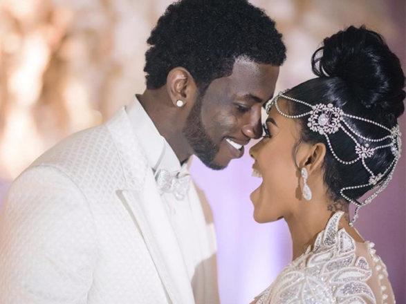 Featured Image for Rapper Gucci Mane marries model Keyshia Ka'oir in lavish $2m wedding