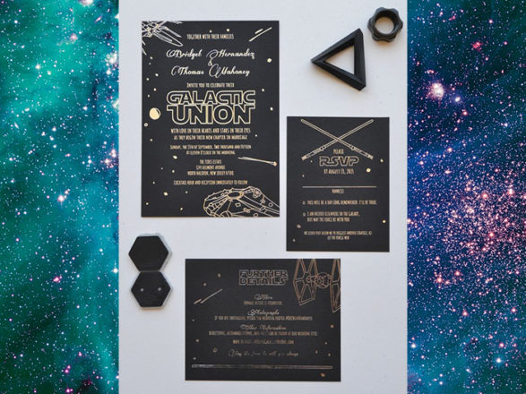 Featured Image for Creative ideas for a classy Star Wars themed wedding