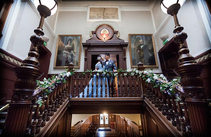 Trades Hall Glasgow wedding