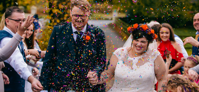 Featured Image for Disneyland meets Halloween themed wedding at Burnhouse Manor, Ayrshire