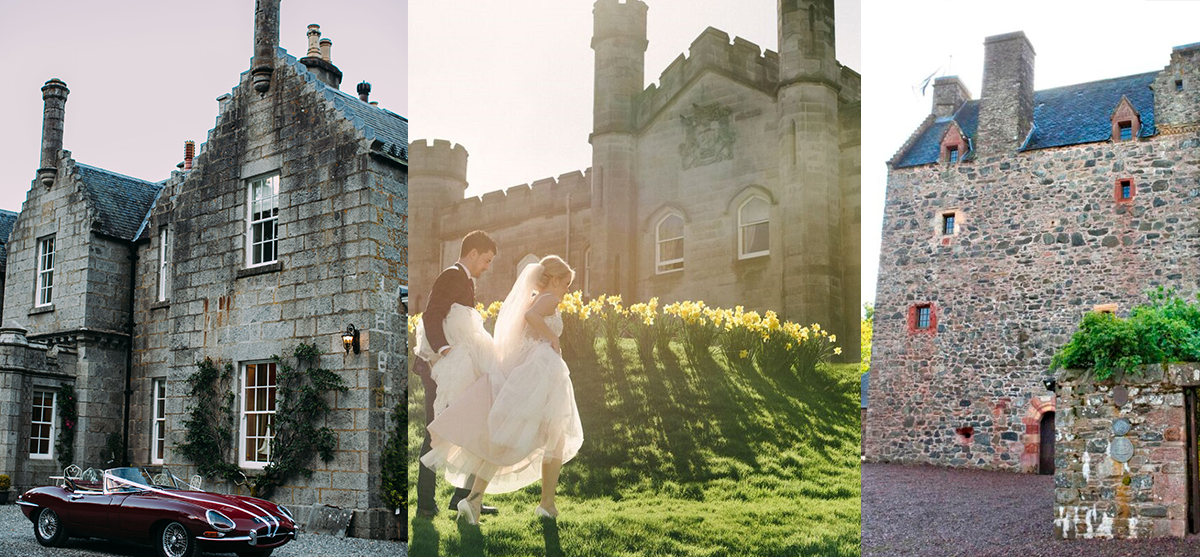 Featured Image for 19 of the best castle wedding venues in Scotland 2017