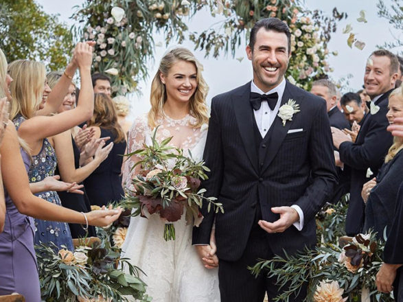 Featured Image for Kate Upton's wedding to baseball player Justin Verlander
