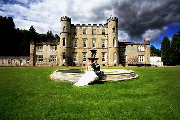 melville castle elopement venue