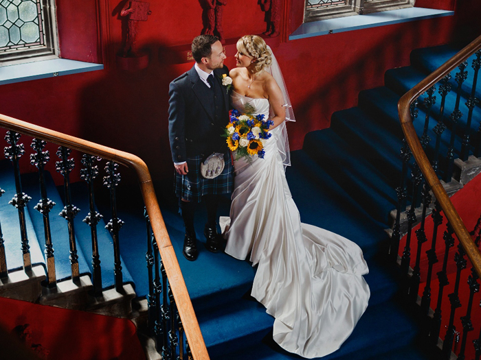 Featured Image for 14 small + intimate wedding venues you can elope to in Scotland 2018