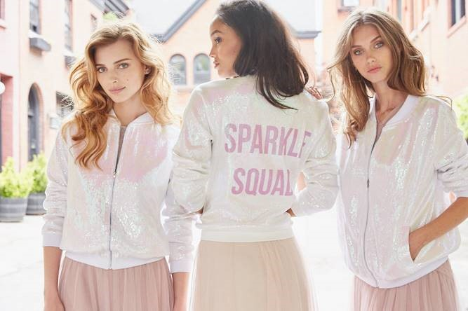 Featured Image for Trend report: Sequin bomber jackets for your Bride Squad!