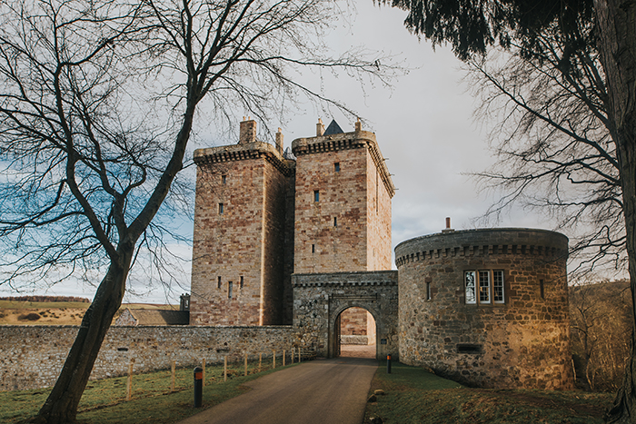 Borthwick Castle Sophia Grace Couture