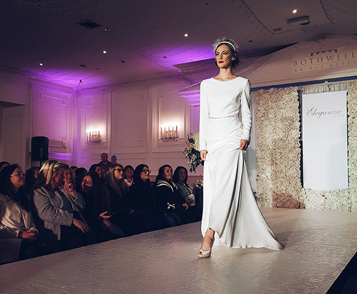 Featured Image for The Girl with the Big Hair: Bridal style inspo at the Eleganza Sposa show