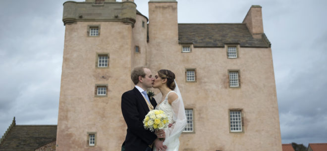Featured Image for An intimate ceremony followed by a relaxed party at Fenton Tower, North Berwick
