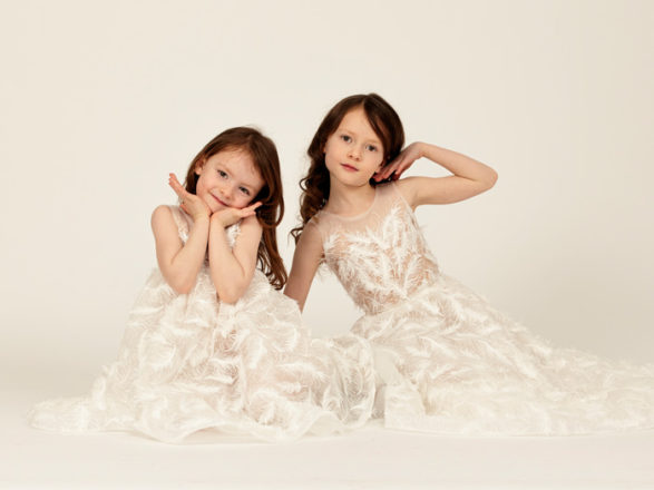 Featured Image for The cutest flower girl dresses ever have arrived at Eleganza Sposa, Glasgow