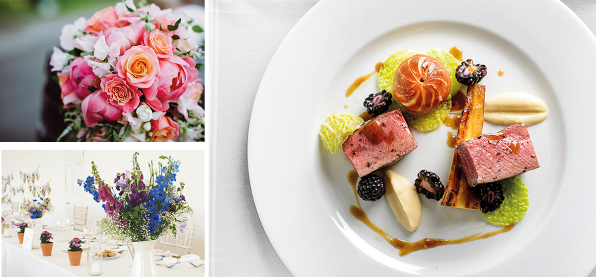 Featured Image for Thinking in season: Flowers and food to choose for your wedding date