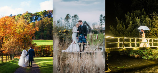 Featured Image for 19 of the best wedding venues in the Scottish countryside 2018