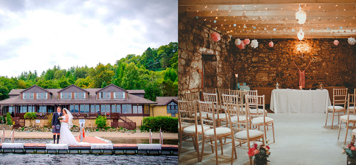 Featured Image for 15 of the best wedding venues around Loch Lomond 2018